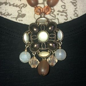 Jewelry - Necklace Multi-color Brown Beads